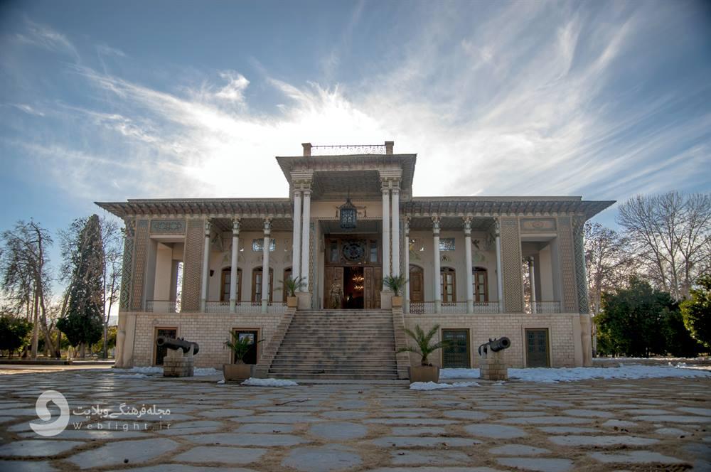 باغ عفیف آباد شیراز ؛ بهشتی که انتهای یک خیابان به انتظارت نشسته