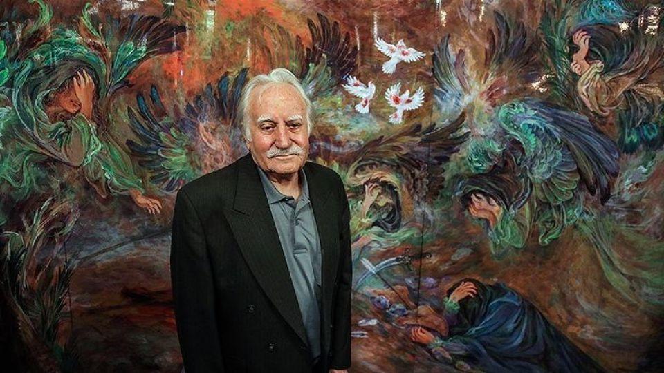 زندگی نامه محمود فرشچیان ؛ هنرمندی که هنرش به ضریح ها گره خورده
