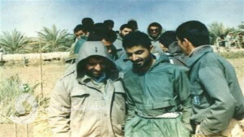 حاج قاسم در جبهه
